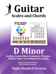 Guitar Scales and Chords - D Minor