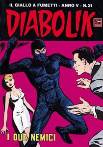 DIABOLIK (71) Copertina del libro