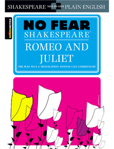 Romeo and Juliet (No Fear Shakespeare) Book Cover