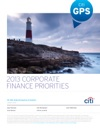 2013 Corporate Finance Priorities