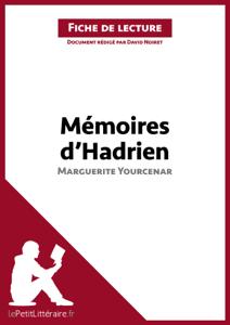 Mémoires d'Hadrien de Marguerite Yourcenar (Fiche de lecture) La couverture du livre martien