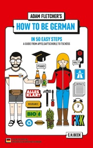 How to be German in 50 easy steps Book Cover