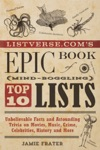 Listversecoms Epic Book Of Mind-Boggling Top 10 Lists