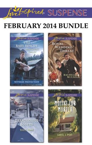 Margaret Daley, Terri Reed, Rachelle McCalla & Carol J. Post - Love Inspired Suspense February 2014 Bundle