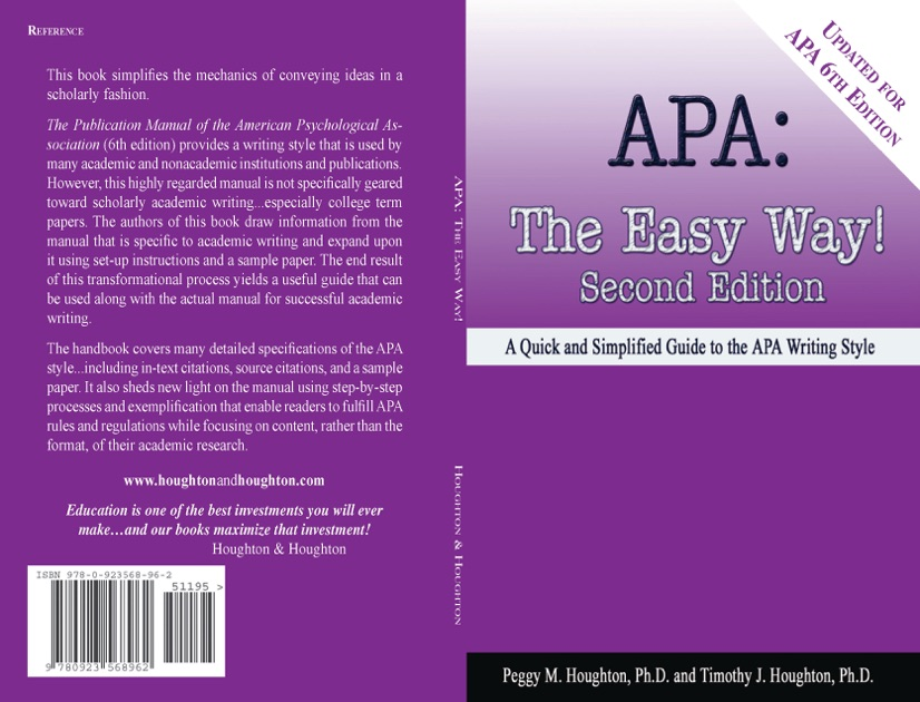 apa style for book How to cite a book in apa book – a written work or composition that has been published – typically printed on pages bound together book citations in apa contain the author name, publication year, book title, publication title, and publisher name.