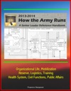 How The Army Runs 2013-2014 A Senior Leader Reference Handbook - Organizational Life Mobilization Reserve Logistics Training Health System Civil Functions Public Affairs