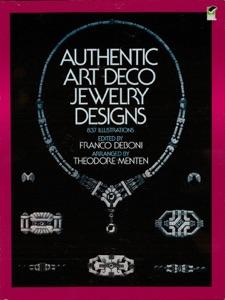 Authentic Art Deco Jewelry Designs Book Cover