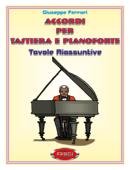 Accordi per tastiera e pianoforte Book Cover