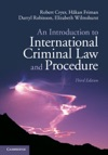 An Introduction To International Criminal Law And Procedure Third Edition
