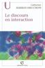 Catherine Kerbrat-Orecchioni - Le discours en interaction artwork