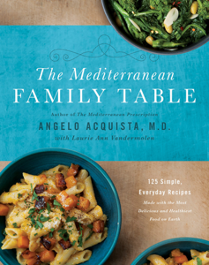 The Mediterranean Family Table Book Cover