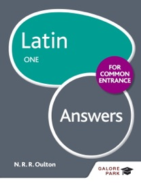 LATIN FOR COMMON ENTRANCE ONE ANSWERS