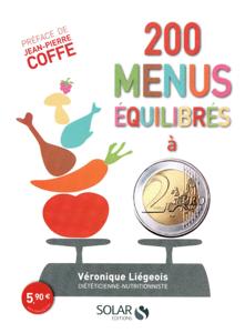 200 menus équilibrés à moins de 2 euros La couverture du livre martien