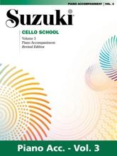 Suzuki Cello School - Volume 3 (Revised)
