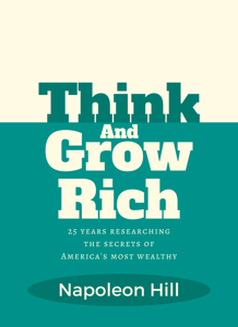 Think and Grow Rich Boekomslag