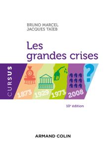 Les grandes crises - 10e éd. La couverture du livre martien