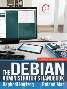 The Debian Administrator's Handbook Copertina del libro