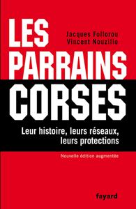 Les Parrains corses La couverture du livre martien