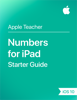 Apple Education - Numbers for iPad Starter Guide iOS 10 artwork