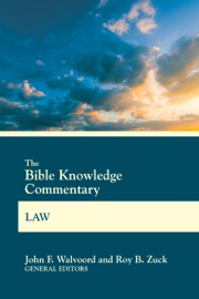 The Bible Knowledge Commentary Law - John F. Walvoord & Roy B. Zuck book summary