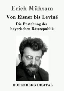 Von Eisner bis Leviné Buch-Cover
