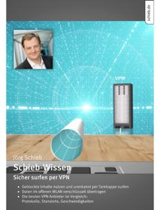 Schieb-Wissen: Sicher surfen per VPN Buch-Cover