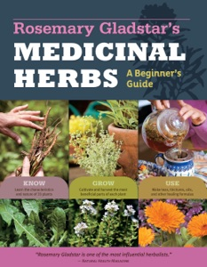 Rosemary Gladstar's Medicinal Herbs: A Beginner's Guide Book Cover