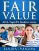 Fair Value. ACCA. Paper P2. Students notes.