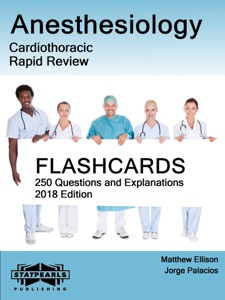 Anesthesiology-Cardiothoracic Book Cover