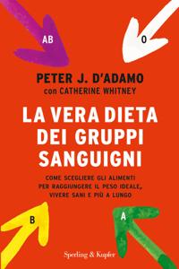 La vera dieta dei gruppi sanguigni Copertina del libro