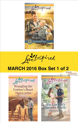 Margaret Daley, Carolyne Aarsen & Patricia Johns - Love Inspired March 2016 - Box Set 1 of 2
