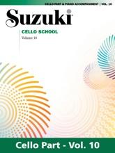 Suzuki Cello School - Volume 10
