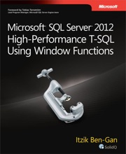 Microsoft® SQL Server® 2012 High-Performance T-SQL Using Window Functions