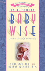 On Becoming Baby Wise: Giving Your Infant the Gift of Nighttime Sleep Book Cover