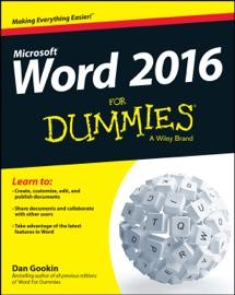 Word 2016 for Dummies - Dan Gookin