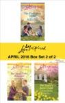 Harlequin Love Inspired April 2016 - Box Set 2 Of 2