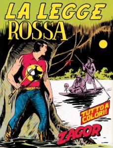 Zagor. La legge rossa Book Cover
