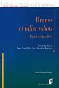 Drones et killer robots : Faut-il les interdire ? La couverture du livre martien