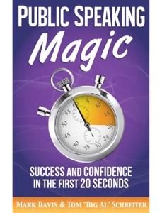 Public Speaking Magic Book Cover