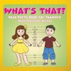 Whats That Body Parts Book For Toddlers Baby Professor Series