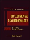 Developmental Psychopathology Theory And Method