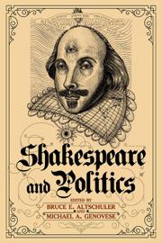Shakespeare and Politics