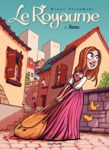 Le Royaume - Tome 1 - Anne La couverture du livre martien