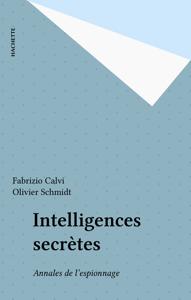 Intelligences secrètes La couverture du livre martien