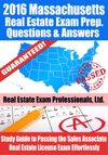 2016 Massachusetts Real Estate Exam Prep Questions And Answers