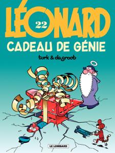Léonard - tome 22 - Cadeau de génie La couverture du livre martien