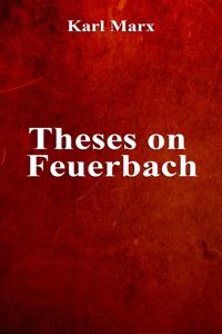 Theses on Feuerbach Boekomslag