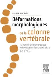 Book's Cover of Déformations morphologiques de la colonne vertébrale