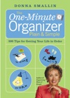The One-Minute Organizer Plain  Simple