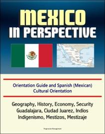 Mexico In Perspective Orientation Guide And Spanish Mexican Cultural Orientation Geography History Economy Security Guadalajara Ciudad Juarez Indios Indigenismo Mestizos Mestizaje